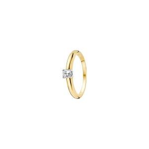 Дамски златен пръстен Blush 1067BZI