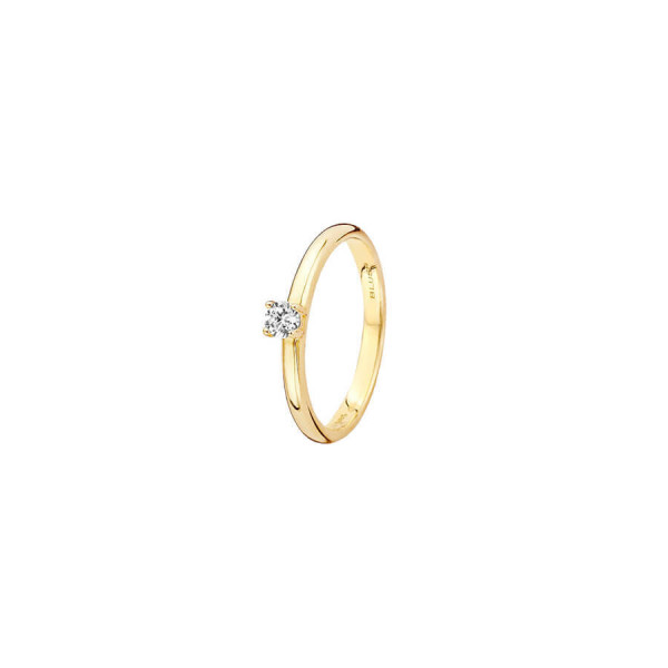 Дамски златен пръстен Blush 1112YZI