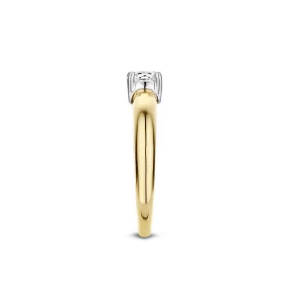 Дамски златен пръстен Blush 1129BZI