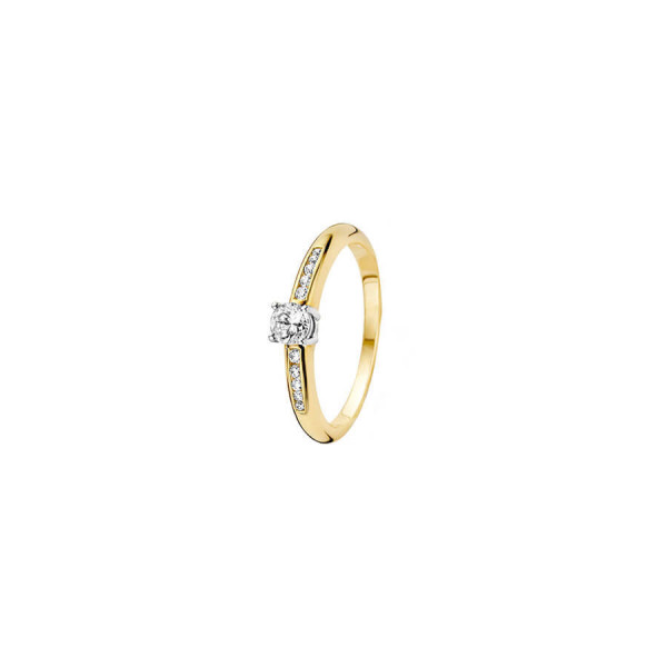 Дамски златен пръстен Blush 1155BZI
