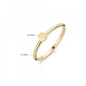 Дамски златен пръстен Blush 1212YGO
