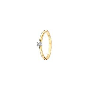 Дамски златен пръстен с диамант Blush 1602BDI
