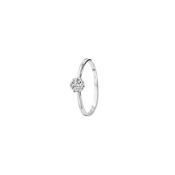 Дамски златен пръстен с диаманти Blush 1611WDI