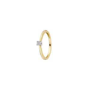 Дамски златен пръстен с диамант Blush 1622BDI