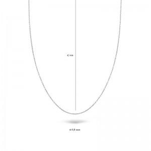 Дамска верижка бяло злато Blush 3058WGO