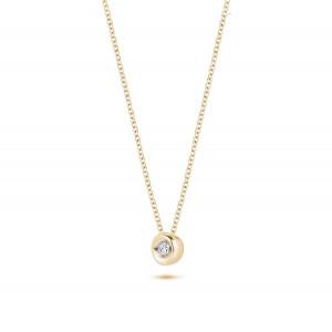 Дамско златно колие с диаманти Blush 3606YDI