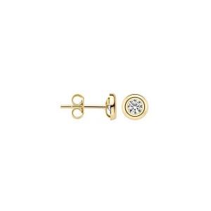 Дамски златни обеци Blush 7126YZI
