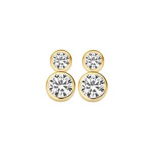 Дамски златни обеци Blush 7159YZI