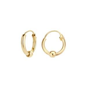 Дамски златни обеци Blush 7191YGO