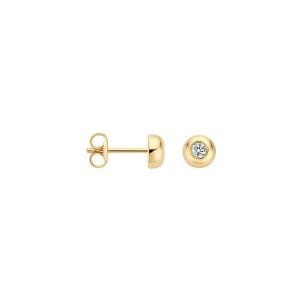 Дамски златни обеци Blush 7206YZI