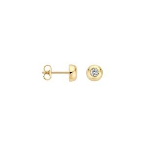 Дамски златни обеци Blush 7207YZI