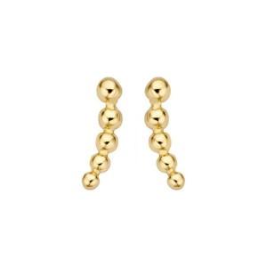 Дамски златни обеци Blush 7226YGO