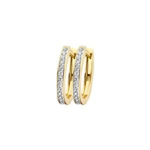 Дамски златни обеци Blush 7234BZI