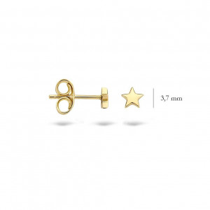 Дамски златни обеци Blush 7247YGO