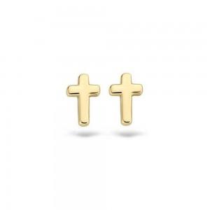 Дамски златни обеци Blush 7252YGO