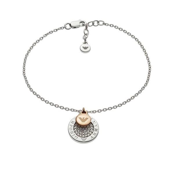 Дамска сребърна гривна Emporio Armani EG3378040
