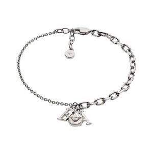 Дамска сребърна гривна Emporio Armani EG3387040