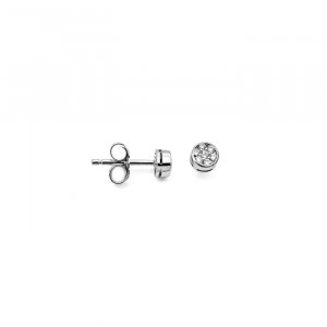 Дамски златни обеци с диаманти Facet E2152000