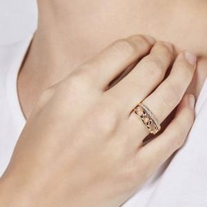 Дамски пръстен Fossil JF03351791