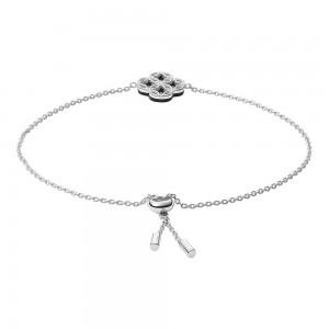 Дамска сребърна гривна Fossil JFS00526040