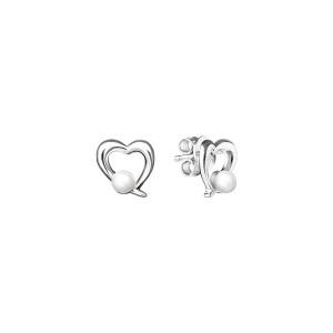 Дамски сребърни обеци Gaura Pearls SK19230E