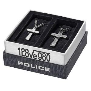 Комплект мъжко и дамско колие Police PJ.25694 CRYPTIC SET