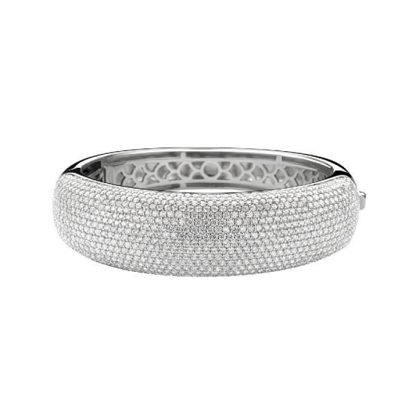 Дамска сребърна гривна Ti Sento 2768ZI