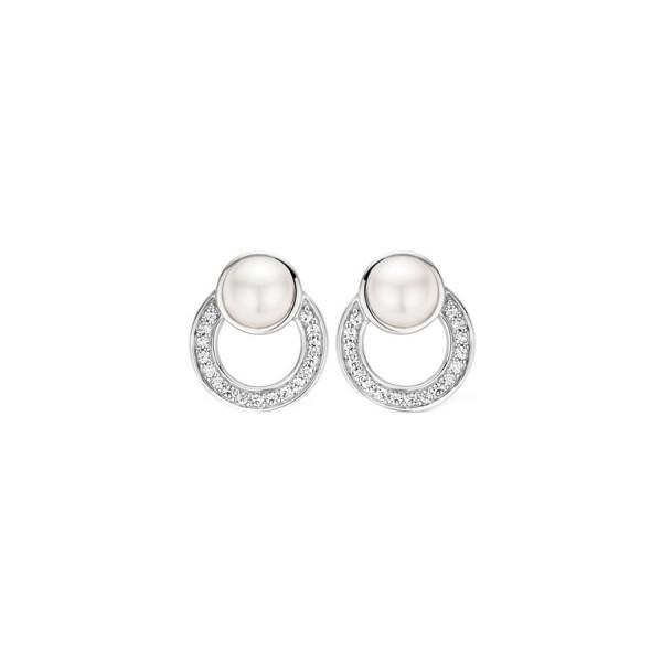 Дамски сребърни обеци Ti Sento 7749PW