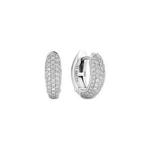 Дамски сребърни обеци Ti Sento 7804ZI