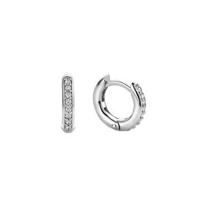 Дамски сребърни обеци Ti Sento 7811ZI