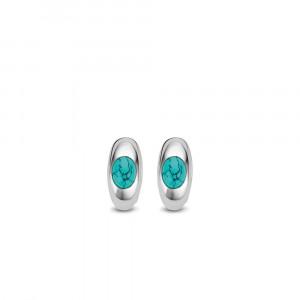 Дамски сребърни обеци Ti Sento 7816TQ