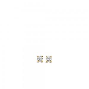 Дамски сребърни обеци Ti Sento 7836ZY