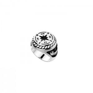 Мъжки сребърен пръстен Zancan EXA086L
